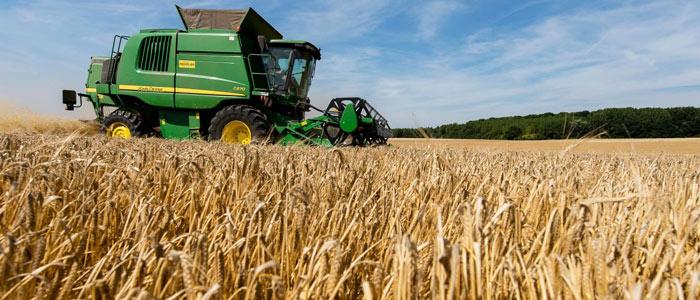 Récolte de céréales