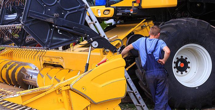 Réparation de machines agricoles